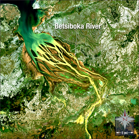 The Betsiboka River - main