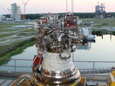 J2X engine at Stennis Space Center