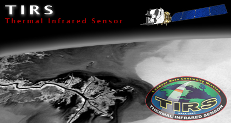 Thermal InfraRed Sensor (TIRS) logo