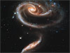 Pair of spiral galaxies named Arp 273