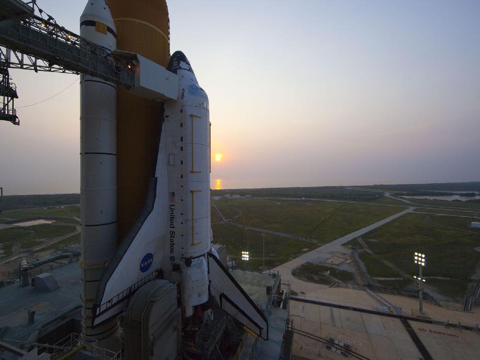 shuttle nasa sunrise - photo #33