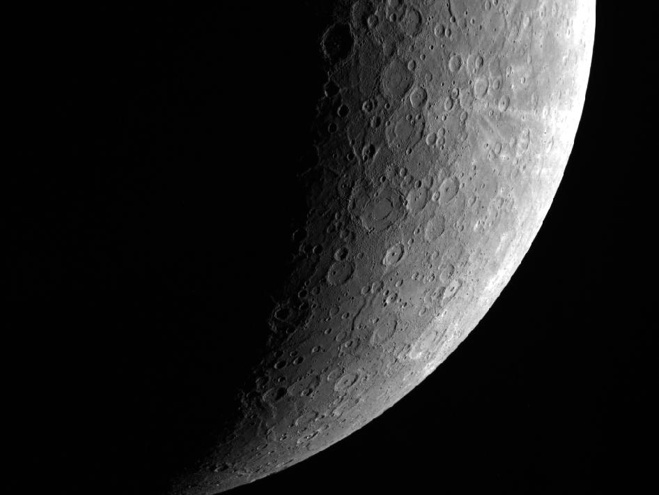 Image from Orbit of Mercury: A Swiftly Non-Tilting Planet