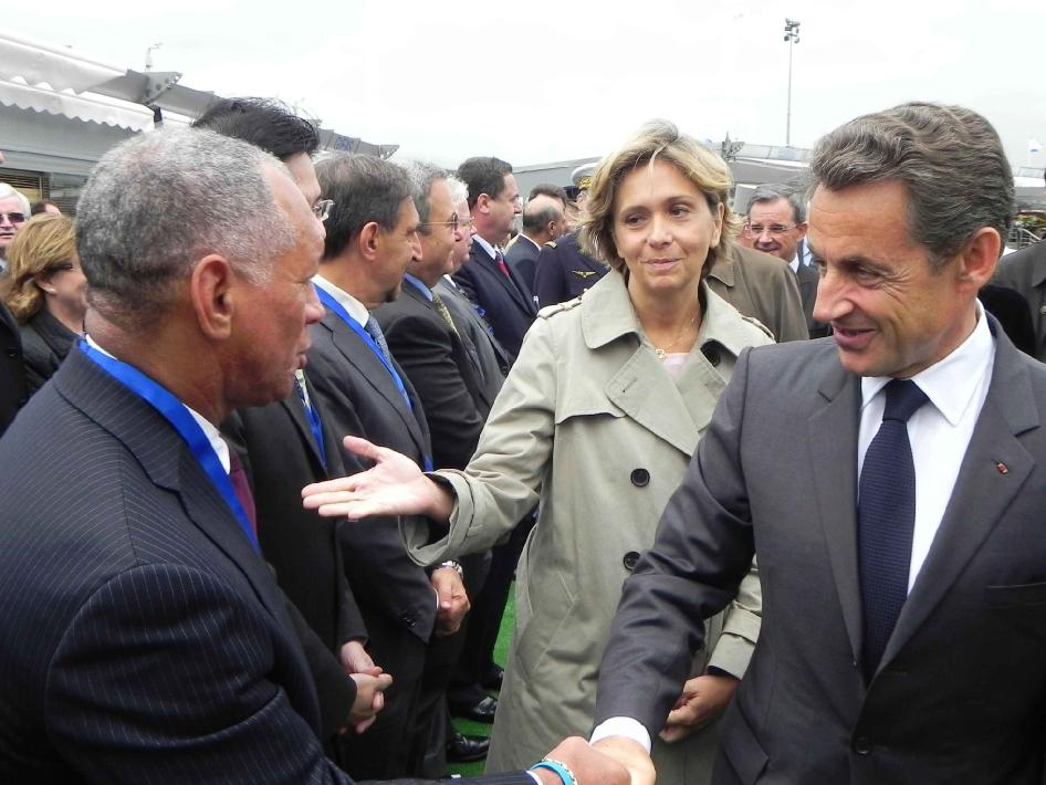 Administrator Bolden and French President Sarkozy meet in Paris