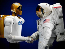 NASA's Robonaut 2 and Human Team Mate
