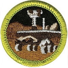 Boy Scout Robotics badge