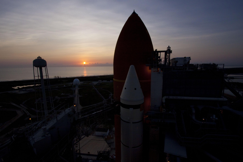 shuttle nasa sunrise - photo #2