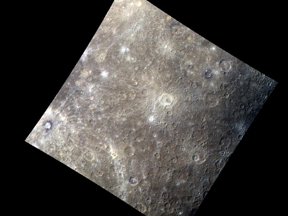 Image from Orbit of Mercury: A Colorful New Look