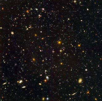 Hubble Ultra Deep Field - 10,000 new galaxies (estimate)