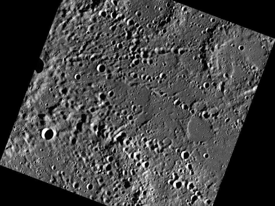 Image from Orbit of Mercury: Rivers of Craters