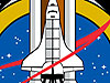The STS-135 logo