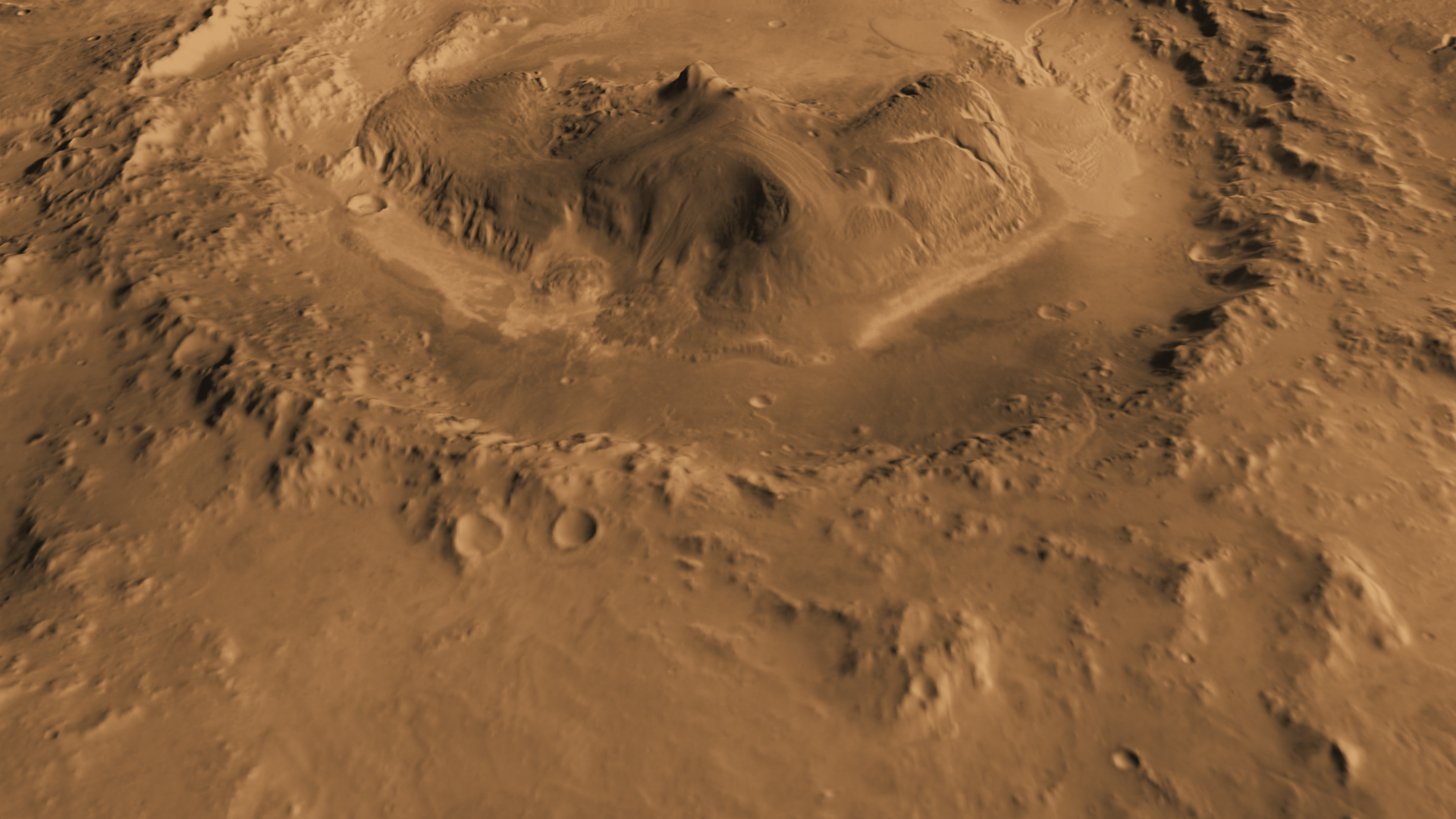 gale crater rover in mars - photo #8