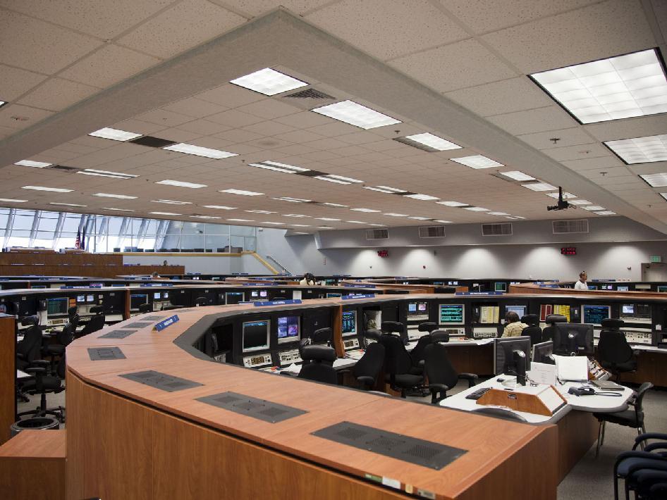 NASA - Firing Room 4 Prepared for Liftoff