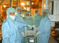United Space Alliance technicians in PCR
