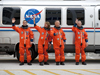 STS135-S-026 -- STS-135 crew members
