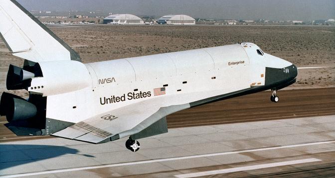 space shuttle enterprise landing - photo #3