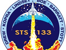 STS 133 misson patch by Tim Gagnon
