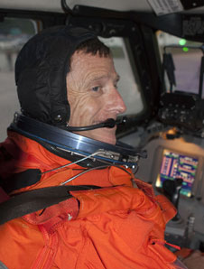 STS-135 Commander Chris Ferguson
