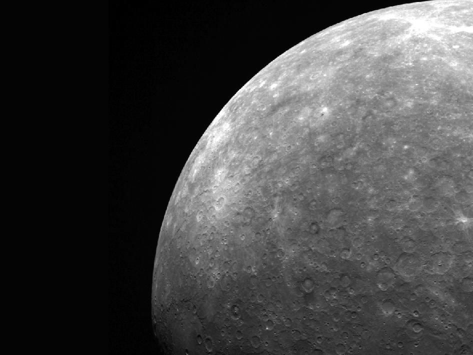 Image from Orbit of Mercury: It All Ends at Mercury's Limb