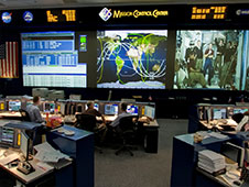 360-Degree STS-135 Image of Mission Control