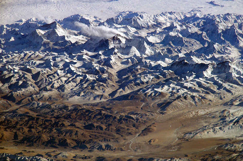 NASA - Mt. Everest from Space