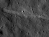 A nascent 15 km wrinkle ridge in Jenner crater