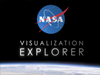 Splash screen for NASAViz iPad app
