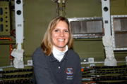Stephanie Stilson, Space Shuttle Discovery vehicle manager at KSC.