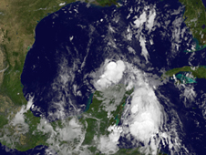 image of Tropical Storm Don