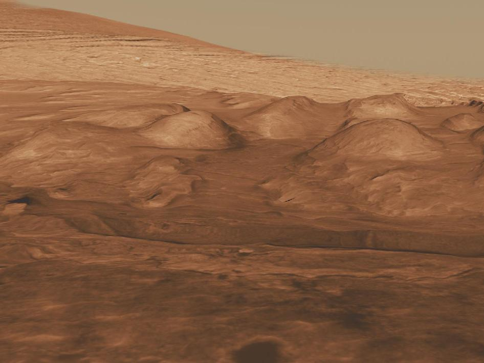 NASA - Rock Layers in Gale Crater