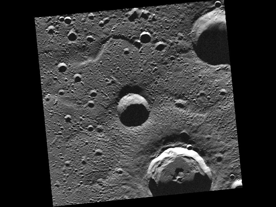 Image from Orbit of Mercury: Some Will Slump