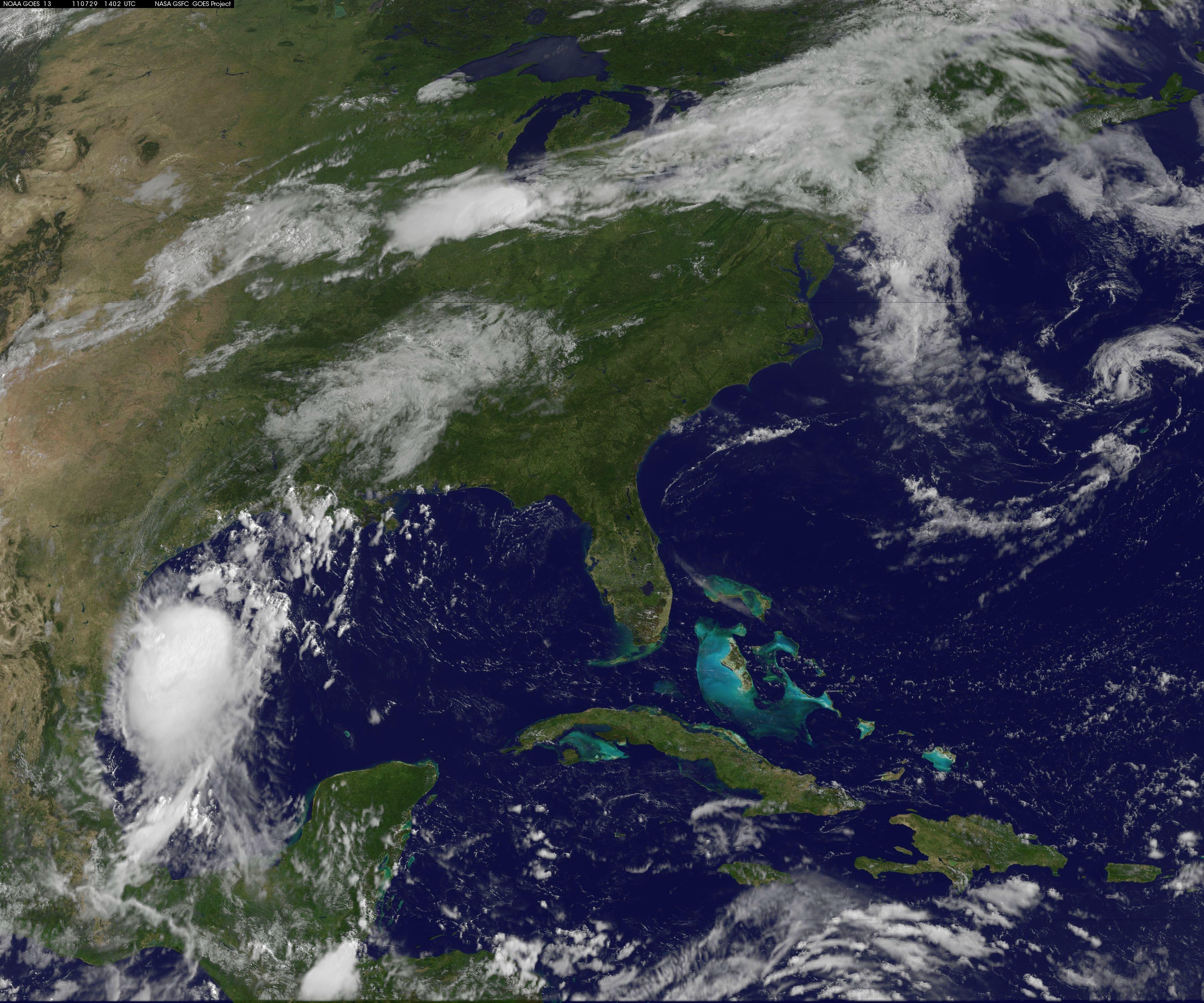 NASA Hurricane Season Don Gulf Of Mexico - Weather radar gulf of mexico satellite