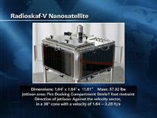Radioskaf-V Nanosatellite