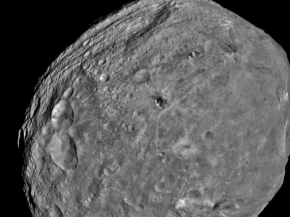Full-Frame image of Vesta