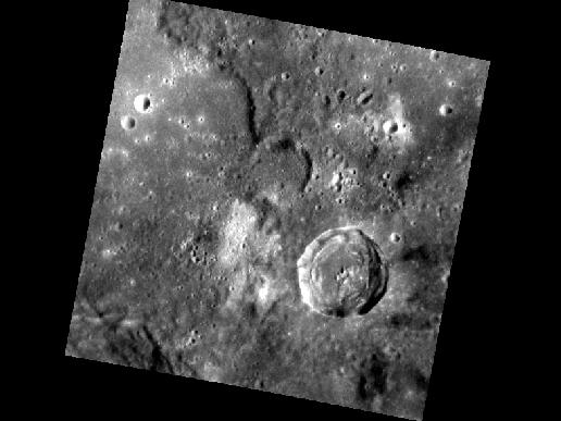 Image from Orbit of Mercury: Mercury's Surface Variety