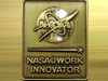 image of NASA@work pin