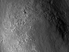 Crest of a wrinkle ridge in Mare Crisium lined with boulders