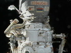 Russian spacewalker