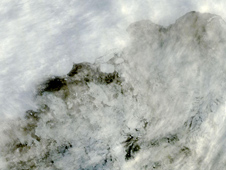 The Sulzberger Ice Shelf as seen by the MODIS on March 13, 2011.