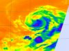 AIRS infrared image of Tropical Storm Eugene on August 5 at 10:05 UTC (6:05 a.m. EDT)