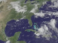 Still image from GOES-13 animation from August 3 to August 8