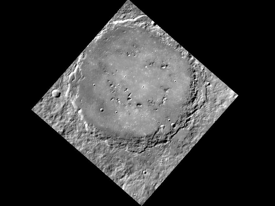 Image from Orbit of Mercury: Mercury's Smile