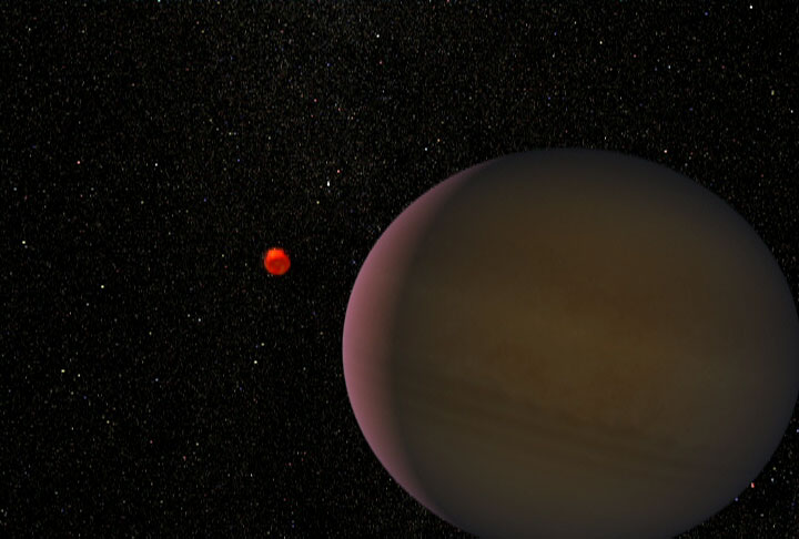 Planet Bigger than Jupiter - Pics about space