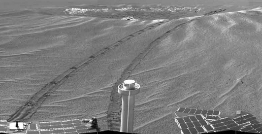 Opportunity photo from Eagle Crater