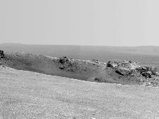 Arrival at 'Spirit Point' by Mars Rover Opportunity