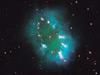 Hubble necklace nebula