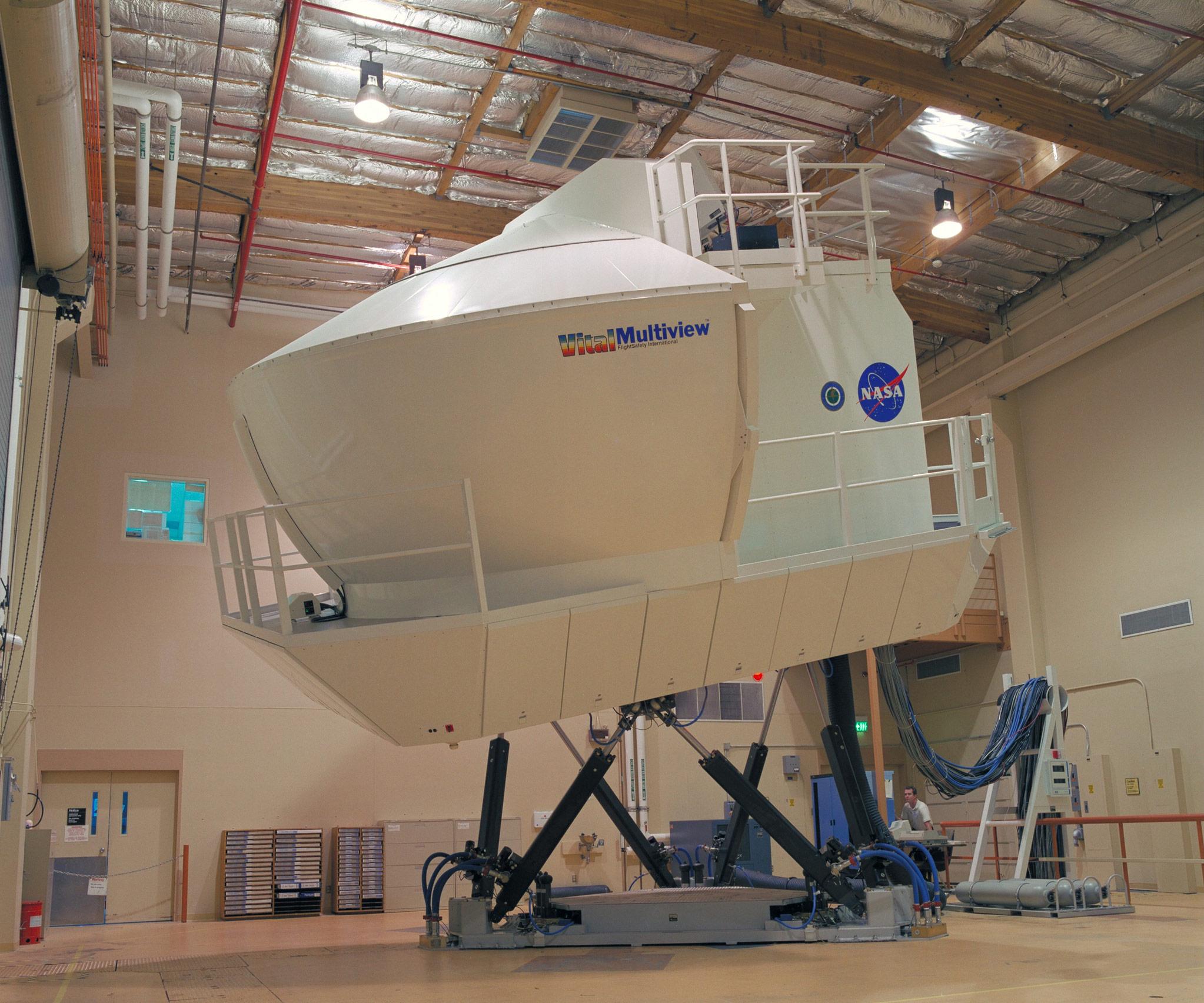astronaut flight simulator - photo #4