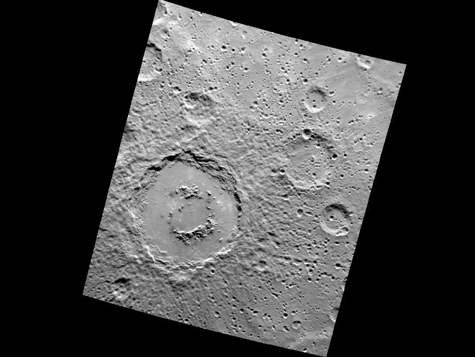 Image from Orbit of Mercury: Crater Captivation