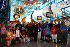 NASA Administrator and GAVRT students