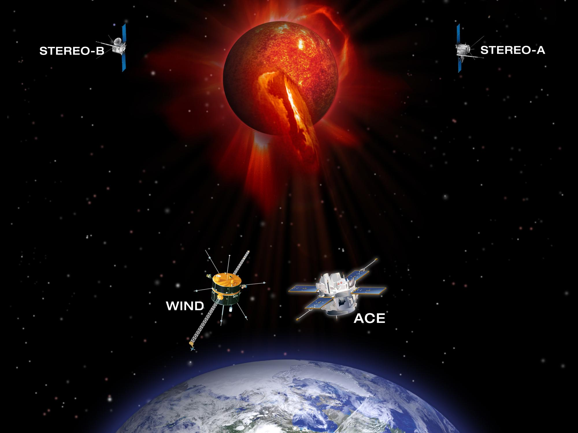 NASA - Tracking Space Weather Events