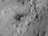 A small dark halo crater on the ejecta of Censorinus A crater